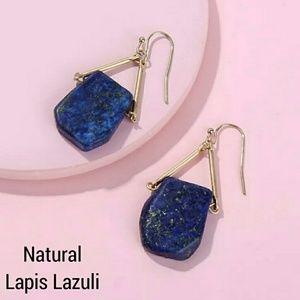 LAST PAIR! Pretty Lapis Healing Crystal Earrings